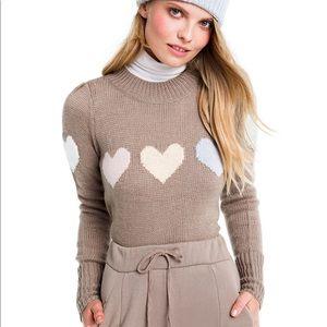 Wildfox Full Hearts Lou Sweater